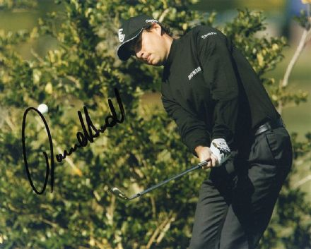 David Howell, Ryder Cup golfer, signed 10x8 inch photo.